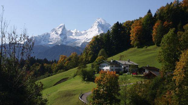 Alpen in Bayern