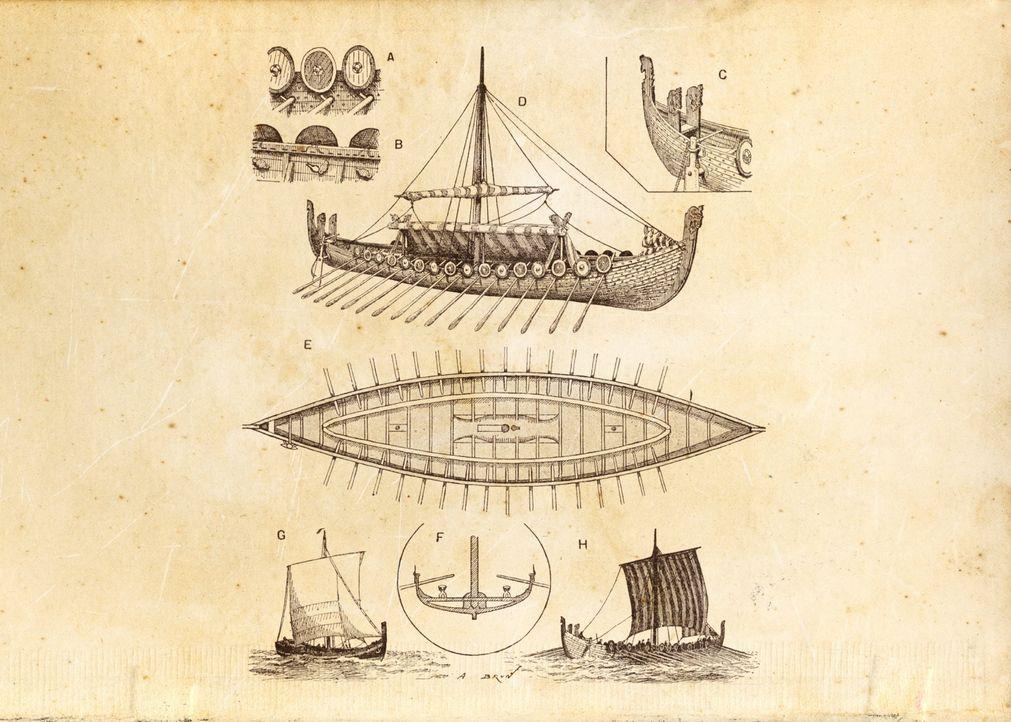 Die Götter der Wikinger waren Giganten mit erstaunlichen und fürchterlichen ... - Bildquelle: A&E Television Networks