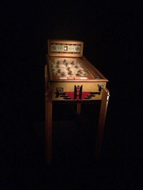 Die Vorläufer des Flippers reichen bis ins 18. Jahrhundert zurück. Don Wildman geht der Geschichte der Flipperautomaten auf den Grund ..... - Bildquelle: 2014, The Travel Channel, L.L.C. All Rights Reserved.