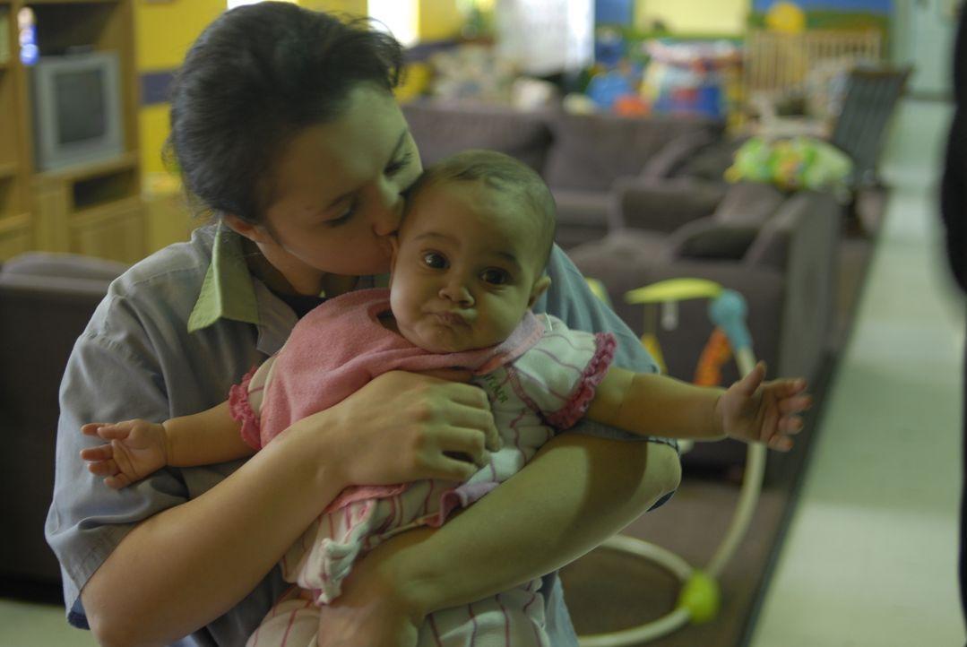 Das Ohio Reformatory hat eine eigene Abteilung für Mütter und ihre Kinder: Insassin Heather O'Brien und ihre Tochter Heaven ... - Bildquelle: Alexandra Meistrell 2010 NGC Network US, LLC All Rights Reserved