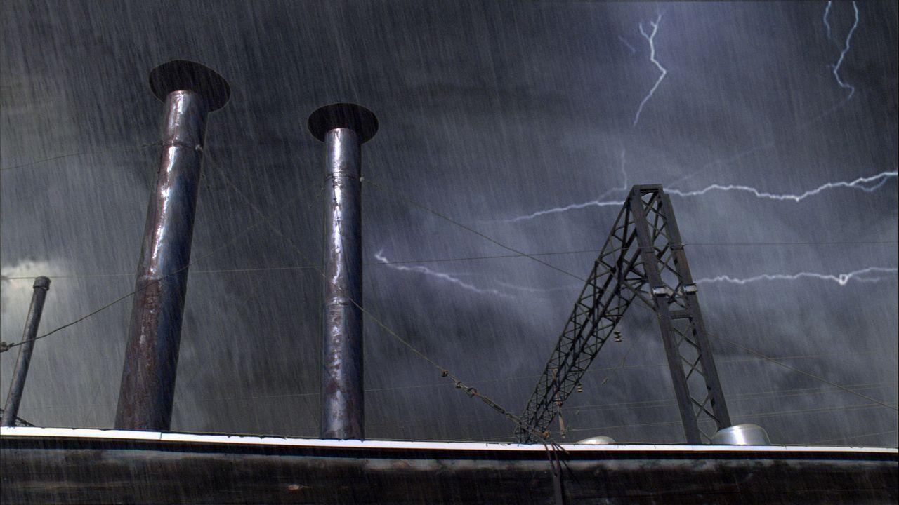 Der Hurrikan hat Miami verschont, steuert nun aber unaufhaltsam und mit vernichtender Kraft auf ein besonders verwundbares Ziel zu: New York ... - Bildquelle: BBC