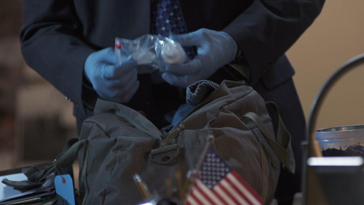 Gehörte der Rucksack, der ganz in der Nähe des Tatorts gefunden wurde, dem Mörder von Susan Schumake? - Bildquelle: LMNO Cable Group
