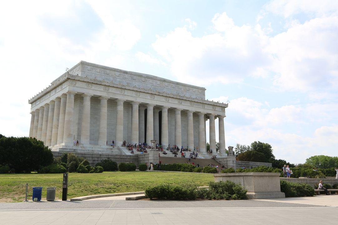 Für viele Touristen ist das Lincoln Memorial auf der National Mall ein unabdinglicher Bestandteil Washingtons. Doch nur wenige wissen, dass Abraham... - Bildquelle: Indigo Films/ DCL
