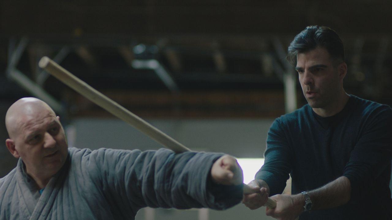Zachary Quinto (r.) - Bildquelle: A&E Networks