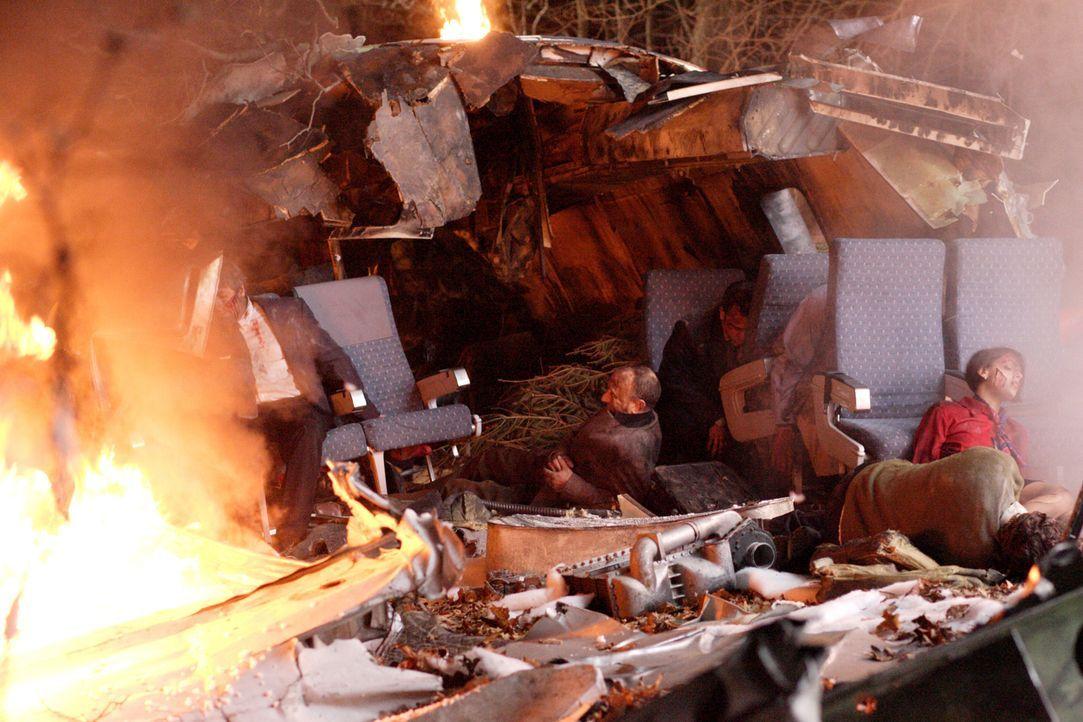 Tragisch: Am 20. Januar 1992 stürzt ein Airbus A320 der Air Inter mit 96 Menschen an Bord im Elsass ab. 87 Passagiere verlieren dabei ihr Leben, dar... - Bildquelle: Ian Watson Cineflix 2009