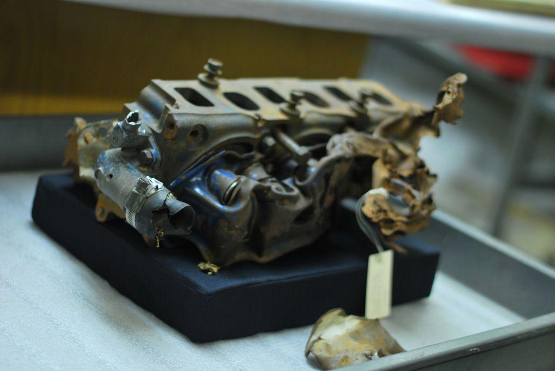Wichtiges Beweisstück: Das Museum State Historical Society in Madison/ Wisconsin besitzt ein Gebilde aus Gusseisen, das auf den ersten Blick wie ver... - Bildquelle: Optomen Productions, Inc. for The Travel Channel