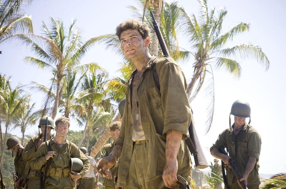 Von August 1942 bis Februar 1943 war die Insel Guadalcanal der Brennpunkt sehr heftiger Kämpfe zu Lande, zu Wasser und in der Luft. Für Chuckler (Jo... - Bildquelle: Home Box Office Inc. All Rights Reserved.