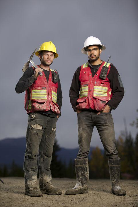 Junior Chef Justin Bunce (l.) und sein Jugendfreund (Mike Mee, r.)  haben zusammen auch eine Firma Quartz Creek Development Ltd) gegründet und wolle... - Bildquelle: Michael J.P. Hall