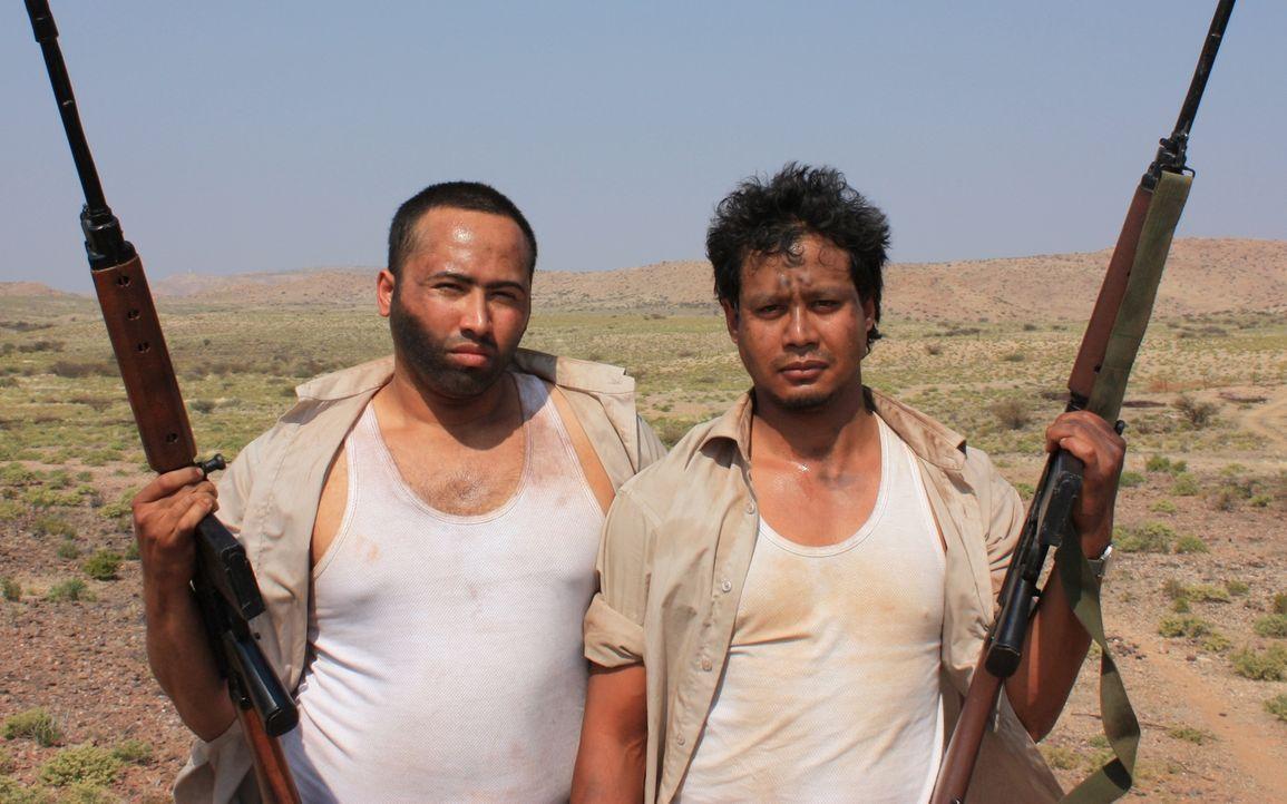 Neun Soldaten der britischen Spezialeinheit SAS befanden sich im Jahr 1972 auf geheimer Mission in Oman. Kurz vor ihrer Rückkehr in die Heimat wurde... - Bildquelle: James Leigh 2008 DANGEROUS FILMS