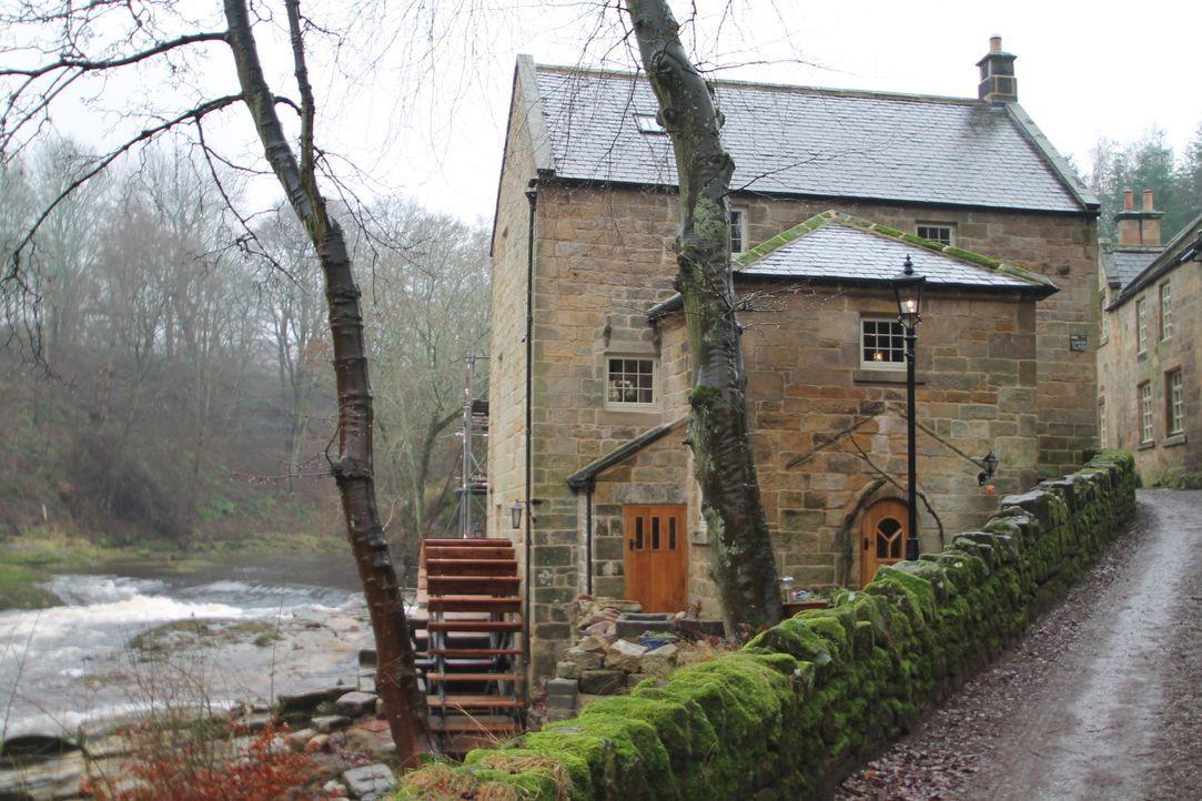 Haben sich die Mühen bei der Restauration der Wassermühle gelohnt? Architekt George Clarke besucht Ehepaar Heldey, um dies herauszufinden ... - Bildquelle: 2014 Cable News Network, Inc. A TimeWarner Company All rights reserved.