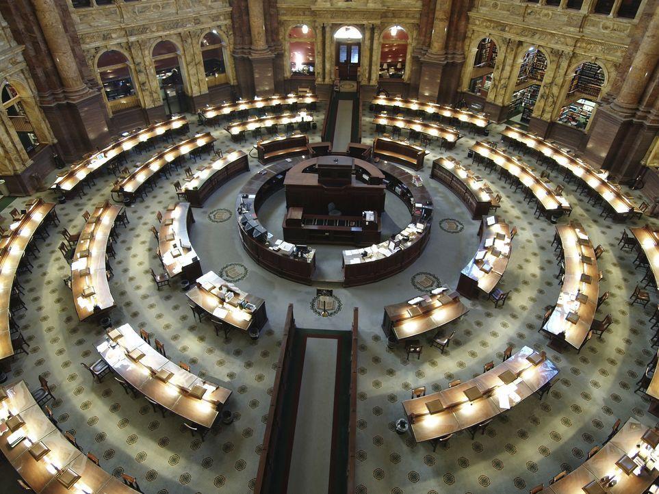 Die Kongressbibliothek in Washington D.C. ist nicht nur ein beeindruckendes Gebäude, man findet dort auch unzählige Bücher sowie die World Digital L... - Bildquelle: Richard Klotz Getty Images/iStockphoto