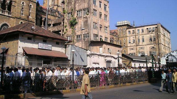 Die Straßen von Mumbai