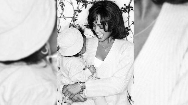 Whitney Houston mit Tochter Bobi Kristina