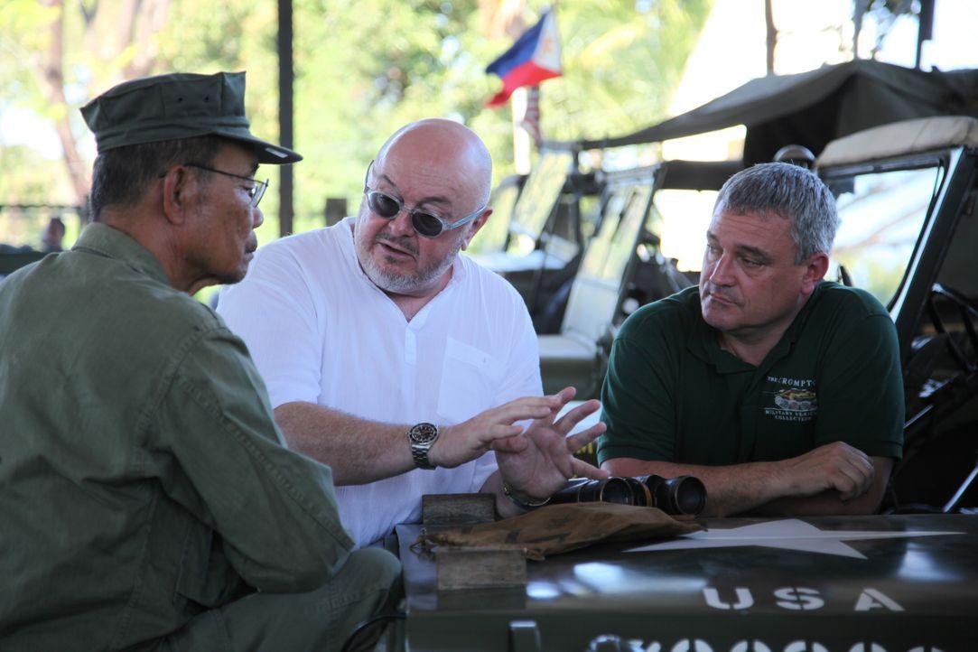 Alte Panzer, antike Uniformen, Kriegsgerätschaften aus vergangenen Jahrzehnt... - Bildquelle: WAGTV