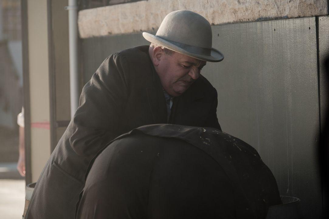 Mit unkonventionellen Methoden nimmt der erste italo-amerikanische Ordnungshüter Joe Petrosino (Al Moran) den Kampf gegen das Verbrechen in New York... - Bildquelle: Darren Goldstein Cineflix 2015