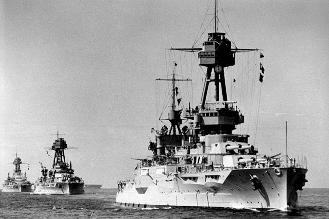 Die USS New York war ein Schlachtschiff der United States Navy, benannt nach dem US-Bundesstaat. Sie überstand zwei Weltkriege und zwei Atombombenex... - Bildquelle: Lou Reda Productions, Inc.