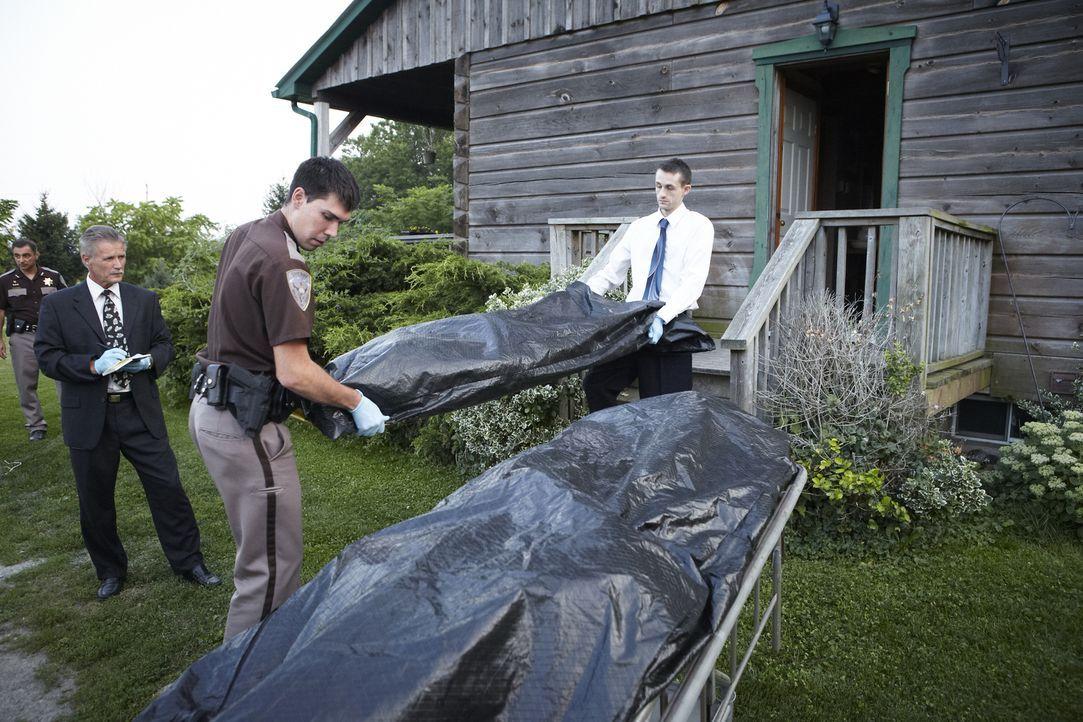John und Nancy Bosco werden in ihrem Zuhause in Bigfork, Montana, erschossen. Die Ermittler haben nur wenige Hinweise und keinen Verdächtigen. Johns... - Bildquelle: Ian Watson Cineflix 2013