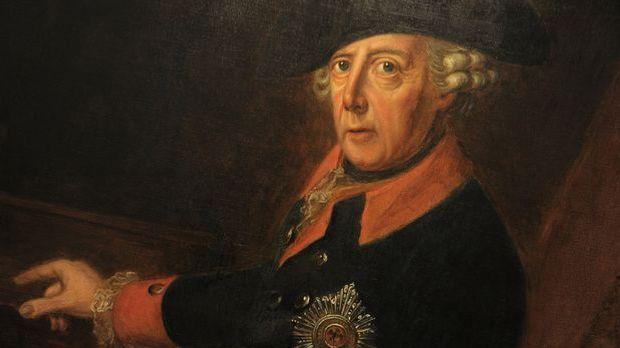 Friedrich der Große im Porträt.