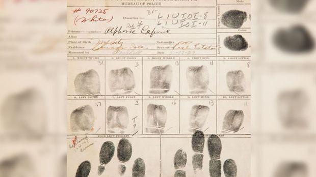 Erst 1929 wandert Capone zum ersten Mal ins Gefängnis.