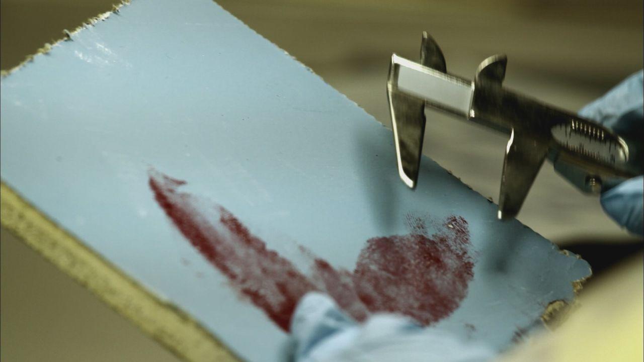 Führen die blutigen Fingerabdrücke die Polizei zu dem Mörder der 21-jährigen Debbie Sue Carter? - Bildquelle: Cineflix 2012