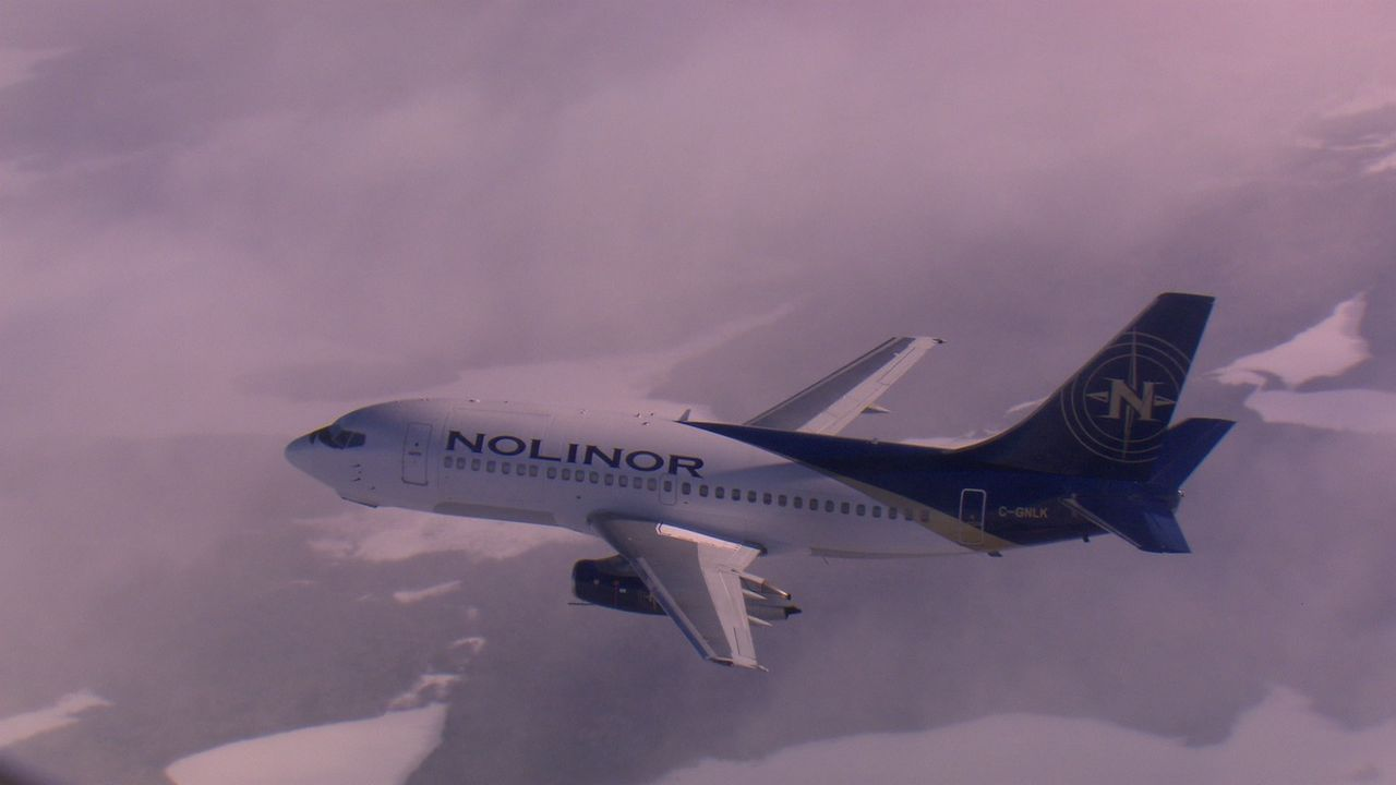 Um in die kälteste Gegend der Welt zu fliegen, bedarf es eines speziellen Fl... - Bildquelle: Exploration Production Inc.