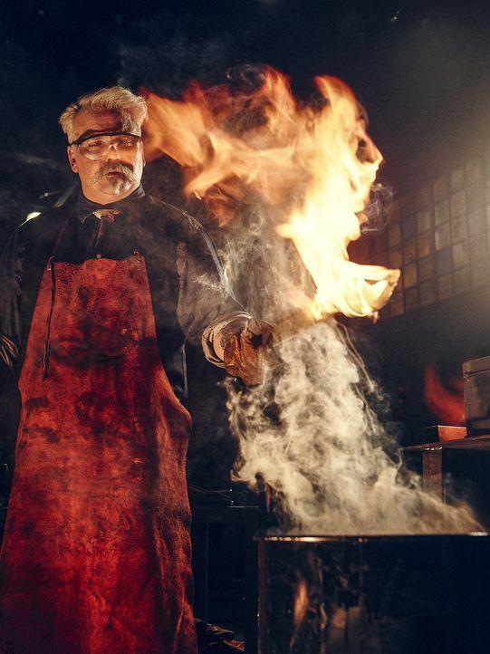 """Waffenexperte David Baker (Bild) ist einer der Juroren bei """"Forged in Fire - Wettkampf der Schmiede"""" ... - Bildquelle: A&E Television Networks"""