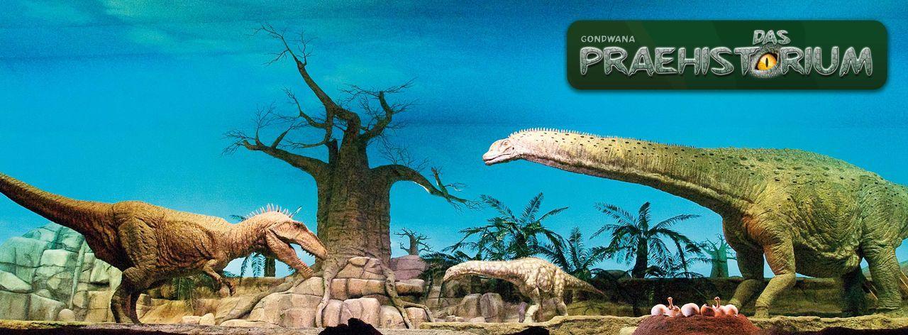 Gondwana - das Prähistorium in Schiffsweiler - Bildquelle: DIE BILDRECHTE LIEGEN BEI GONDWANA PRAEHISTORIUM E.K., HERRN MATTHIAS MICHAEL KUHL