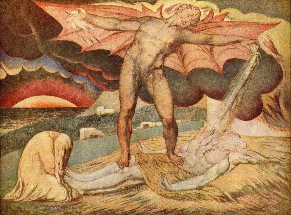 Schenkt man den neuen Interpretationen antiker Schriften Glauben, so war Sat... - Bildquelle: A&E Television Networks