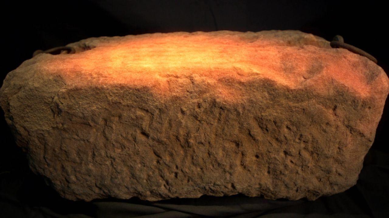Ist das wirklich der Jakobsstein? Nachdem dem Historiker jahrelang eine genaue Untersuchung verwehrt wurde, will Adrian Gilbert dem Ursprung des Ste... - Bildquelle: WMR