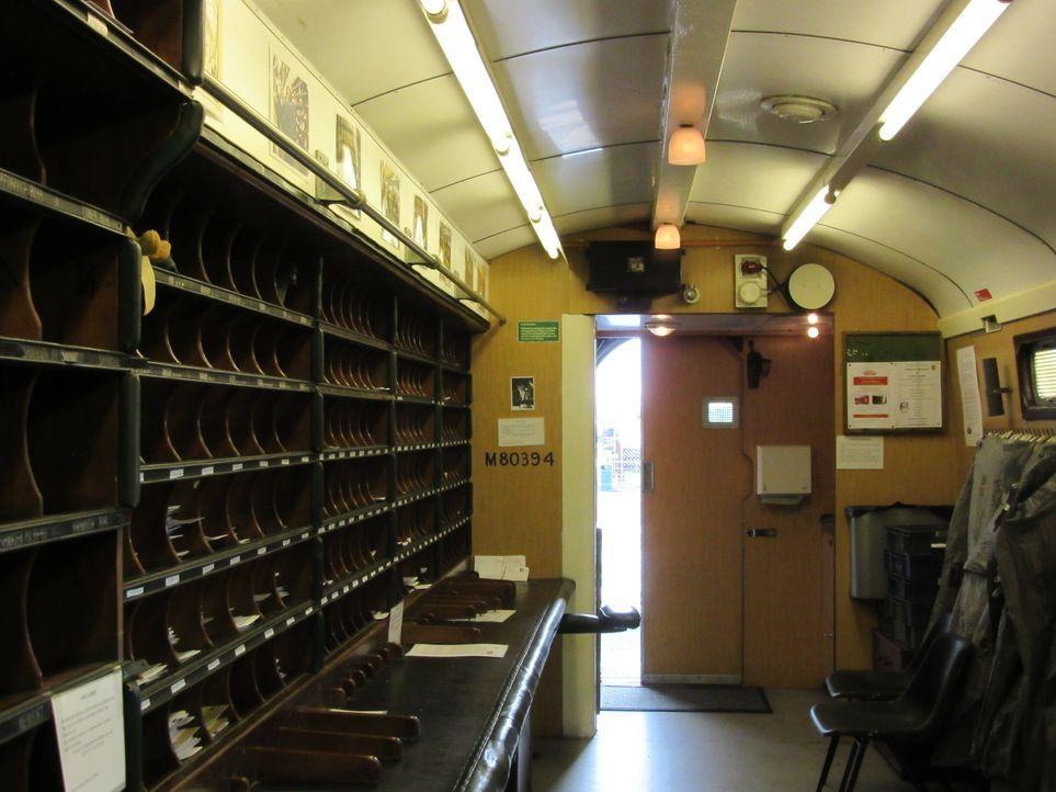 Don Wildman erzählt von einem genialen Postzugraub ... - Bildquelle: 2014, The Travel Channel, L.L.C. All Rights Reserved.