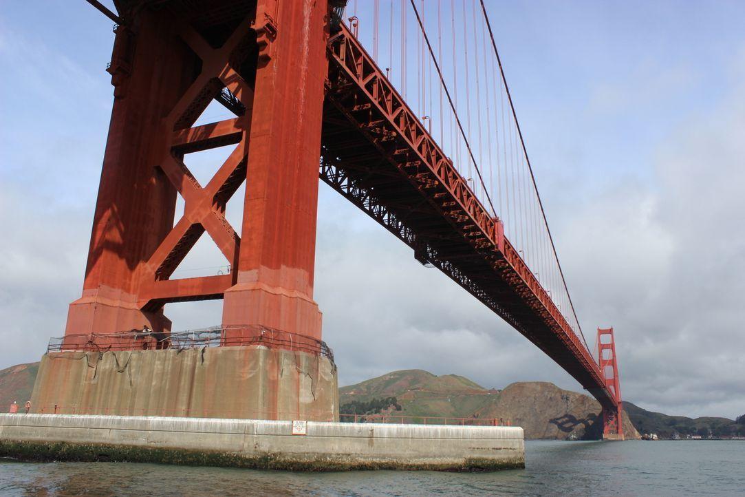 Bereits bevor es die Golden Gate Bridge überhaupt gab, sorgte sie bereits für Gesprächsstoff. Die Bevölkerung San Francisco debattierte über die Far... - Bildquelle: Indigo Films/ DCL