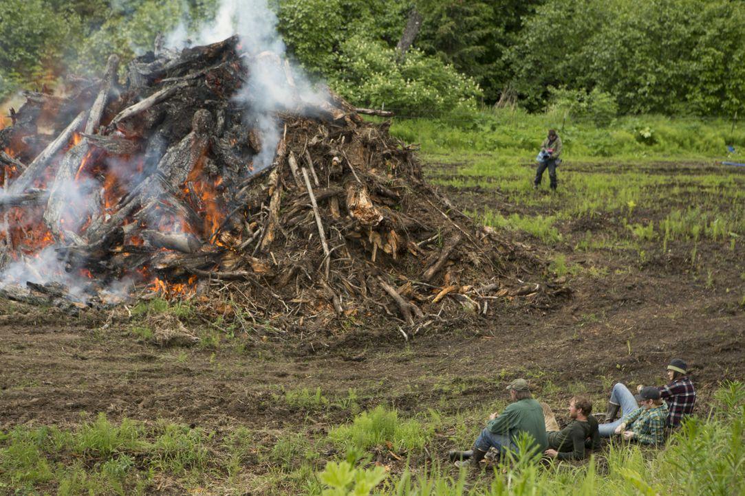 Das große Feuer - Bildquelle: Discovery