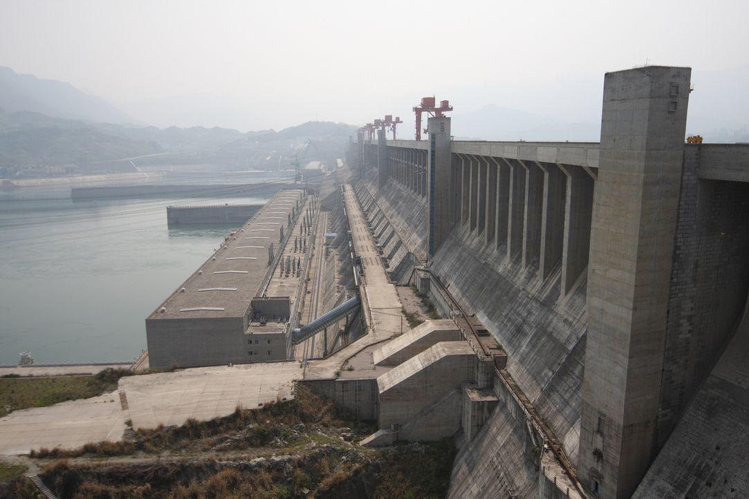 Der Drei-Schluchten-Damm - Bildquelle: Caroline Harvey Caroline Harvey