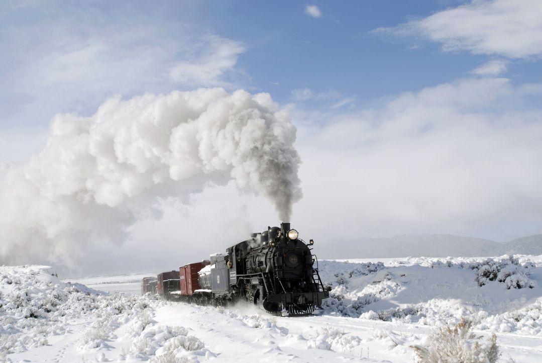 Lokomotiven oder Raddampfer aus dem 19. Jahrhundert wurden mit Dampf betrieben. Dampf als Energiequelle ist heutzutage auch wieder ein Thema, denn G... - Bildquelle: Nevada Northern Railway