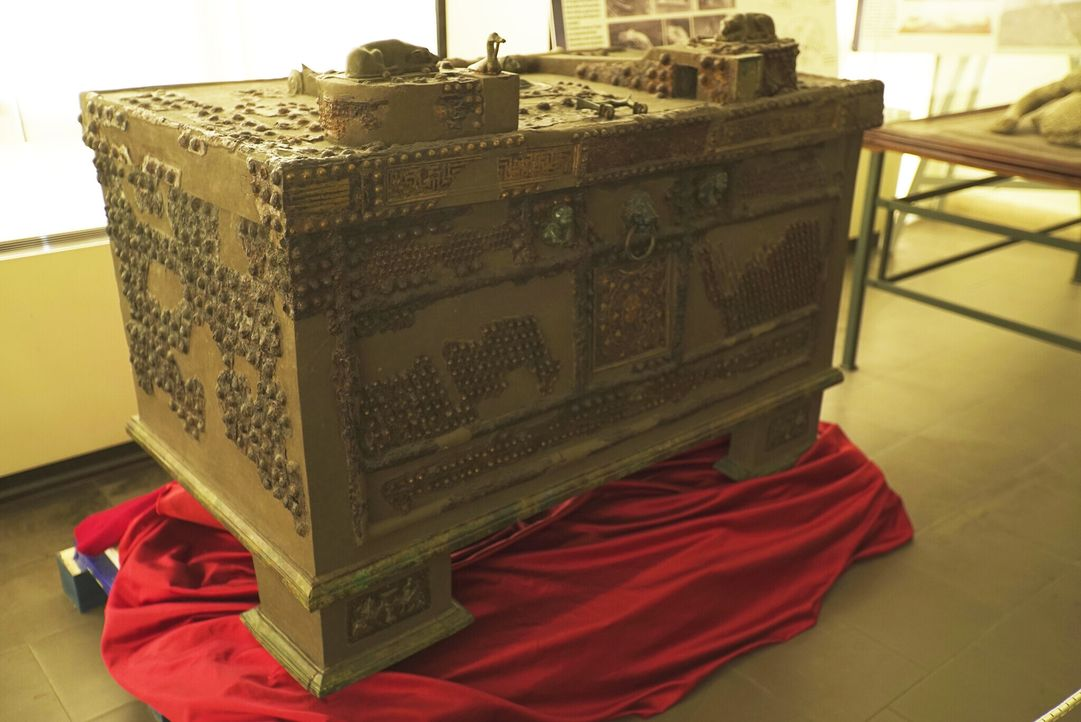 Die unzähligen Artefakte aus der Grabstätte Tutanchamuns erzählen vom Leben ... - Bildquelle: BLINK FILMS 2019