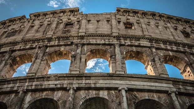 Colosseum in Rom, Italien